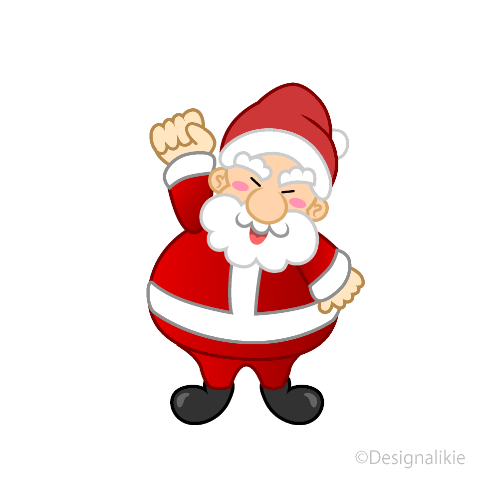 Free Angry Santa Clipart Image|Illustoon.