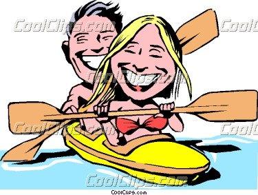 Clipart Canoe Kayak.
