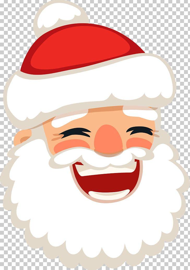 Santa Claus Laughter Christmas PNG, Clipart, Adobe.