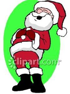 Santa Claus Laughing.