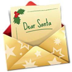 Santa Letters Clipart.