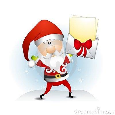 Various Santa Claus Clip Art 2 Royalty Free Stock Photos.