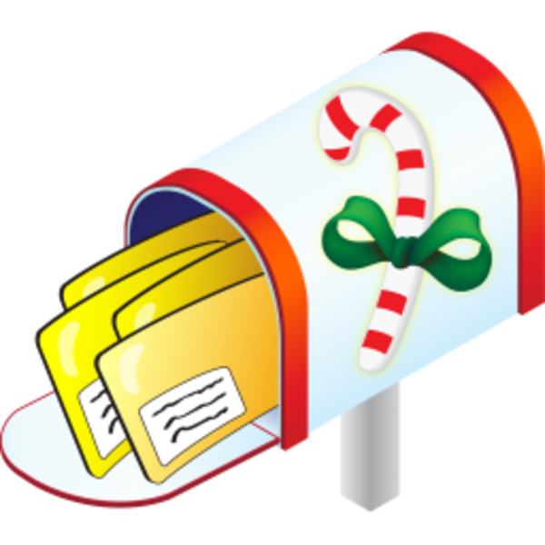 Mailbox christmas mail clipart clipart kid.