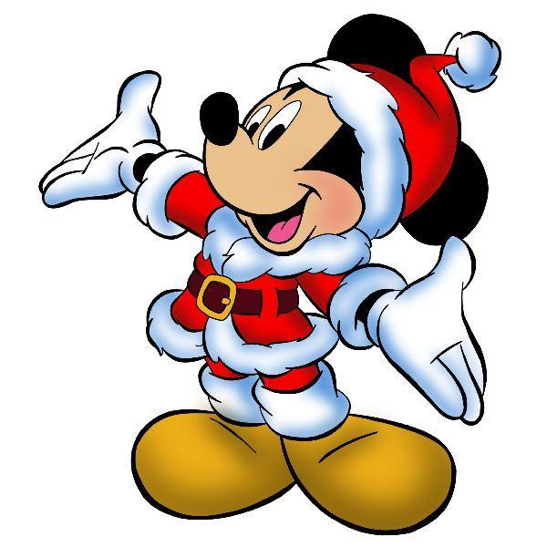 Santa Mickey.