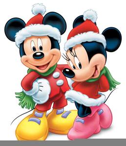 Mickey Santa Clipart.
