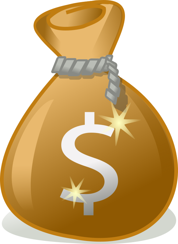 Clipart santa money, Clipart santa money Transparent FREE.