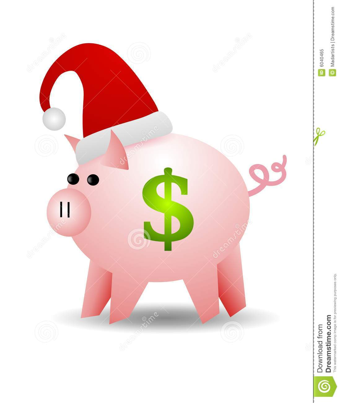 Christmas Cash Clipart.