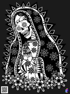 DIA DE LOS MUERTOS ☠~Santa Muerte.
