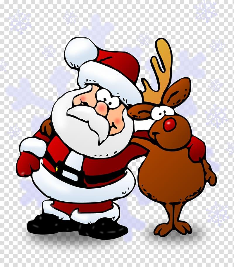 Rudolph Santa Claus Reindeer North Pole , santa sleigh.