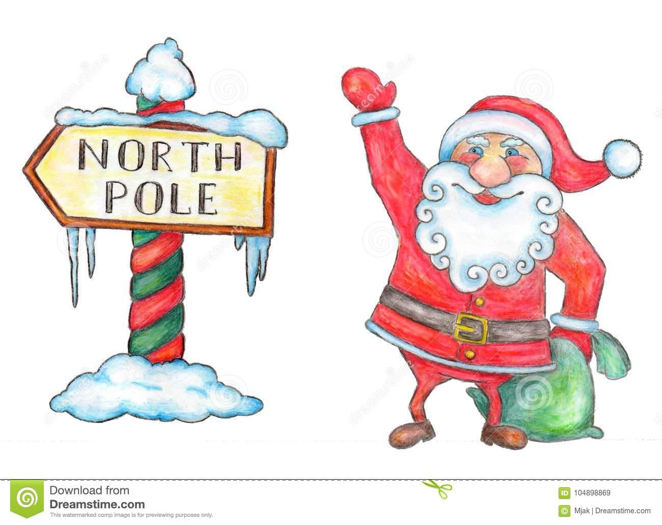 553 North Pole free clipart.