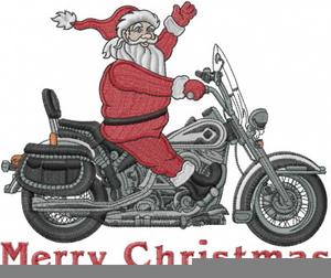 Harley Biker Clipart.