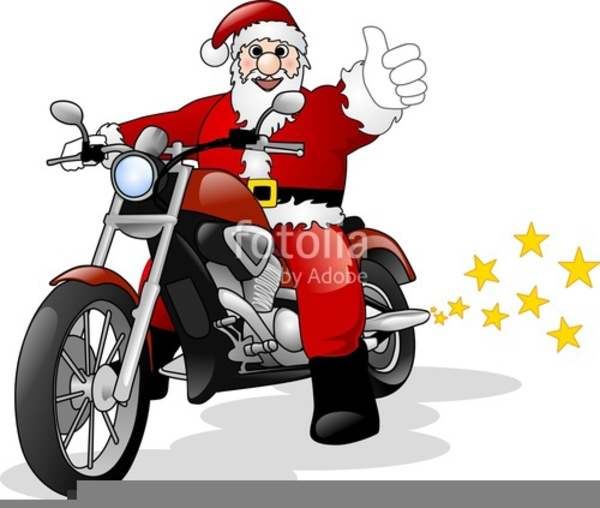 1732 Motorcycle free clipart.