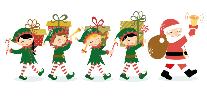 Christmas Parade Clipart.