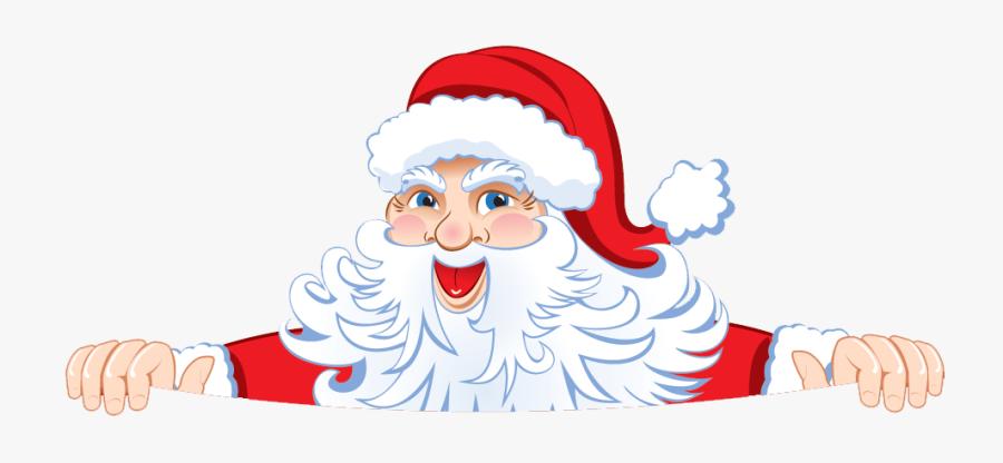 santa peeking clipart 10 free Cliparts | Download images ... (900 x 416 Pixel)