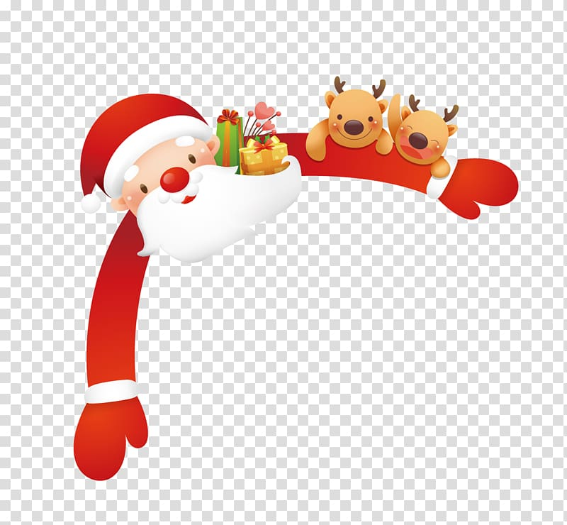 Santa Claus Christmas, Santa Claus transparent background.
