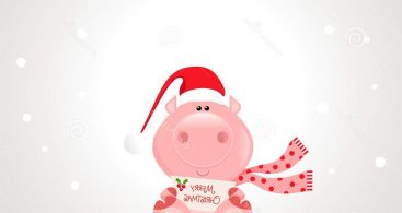 Christmas Pig Clip Art Archives.