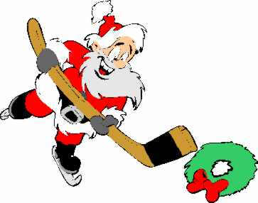Hockey clipart christmas, Hockey christmas Transparent FREE.