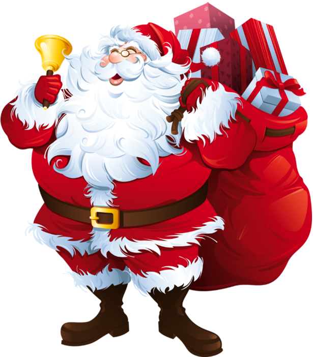 Santa Claus PNG Transparent Images.