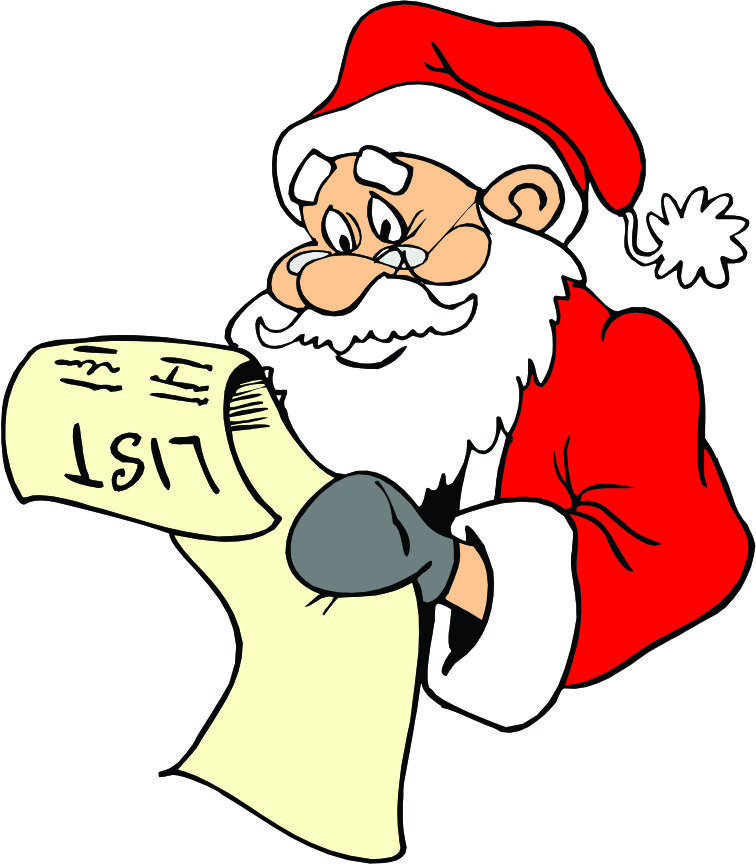 Free Santa Reading Cliparts, Download Free Clip Art, Free.