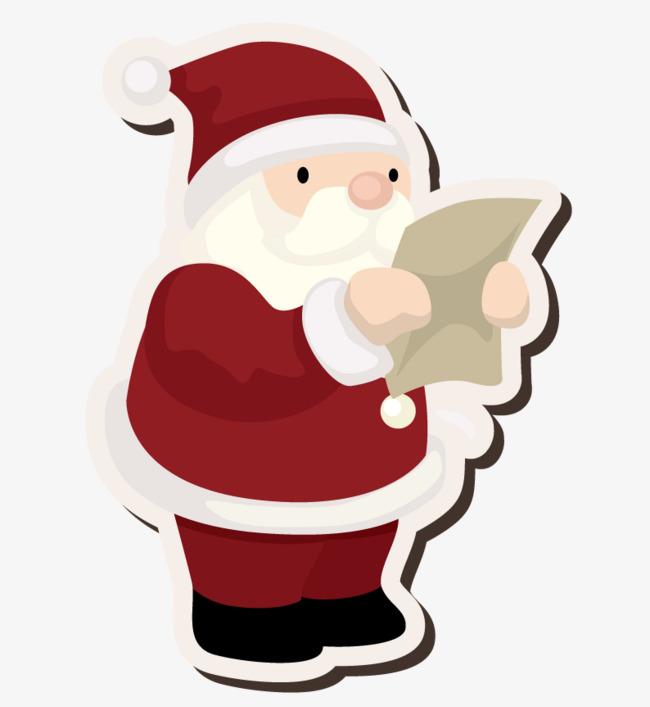 Santa Claus Reading The Letter, Santa Cl #84449.