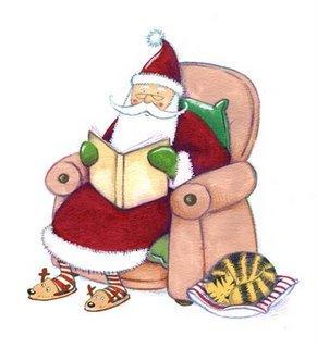 Free Santa Reading Cliparts, Download Free Clip Art, Free.