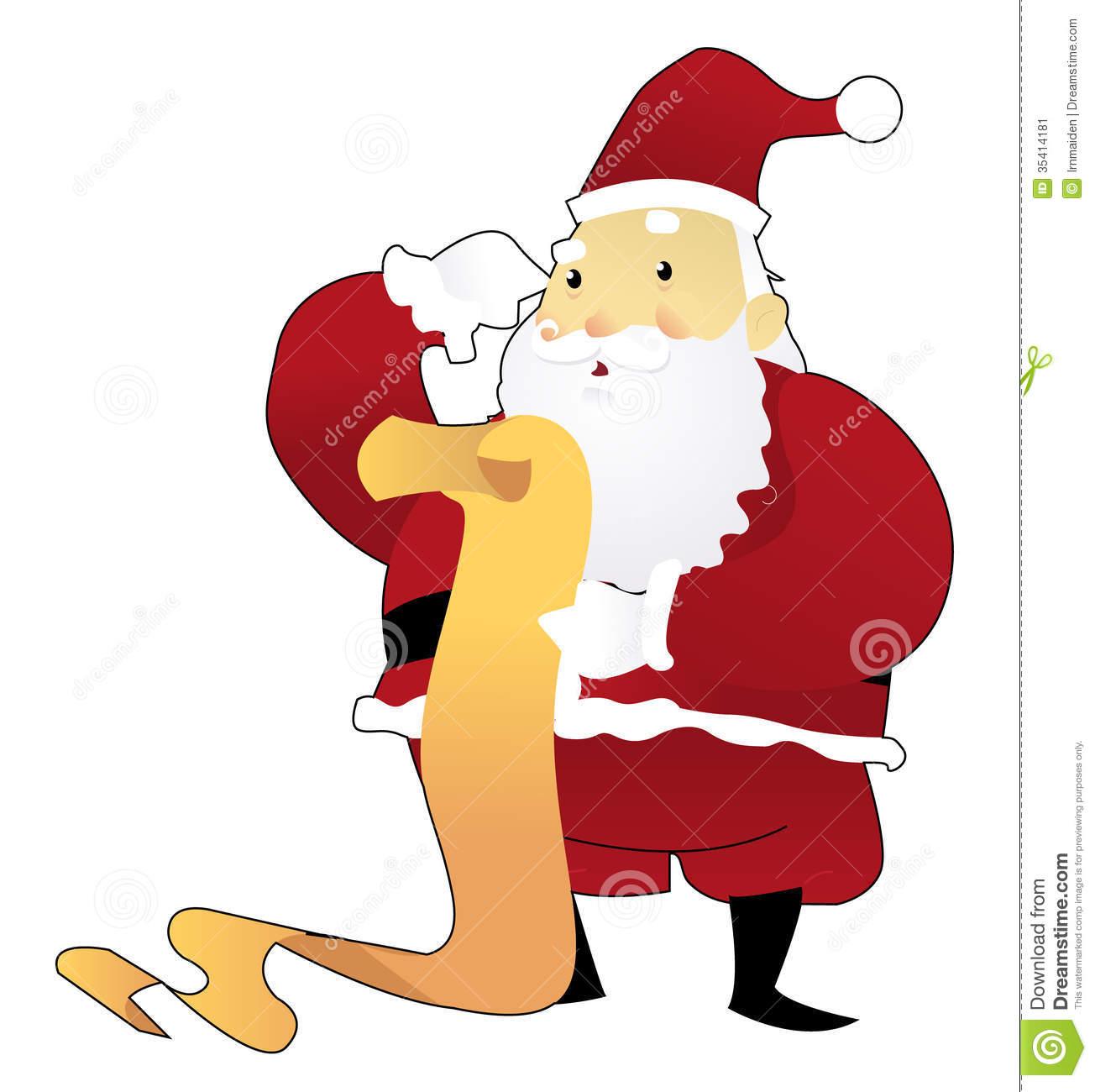 Similiar Santa Claus Reading Keywords.