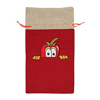 Amazon.com: CYINO Personalized Santa Sack,Chili Pepper.