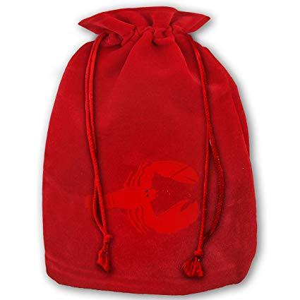 Amazon.com: Red Lobster Clipart Bags Drawstring Santa Sack.