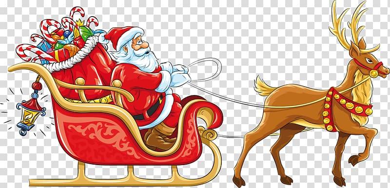 Santa Claus\\\'s reindeer Santa Claus\\\'s reindeer Sled , santa.