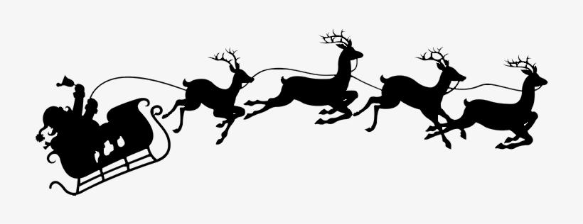 Download Santa & Reindeer Image.