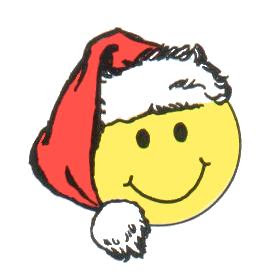 Gallery For > Santa Smiley Clipart.