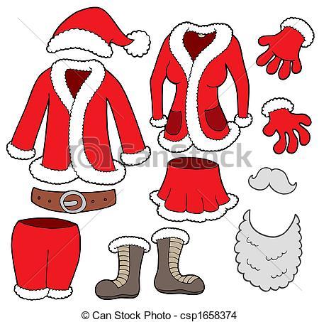Santa suit clipart 4 » Clipart Station.