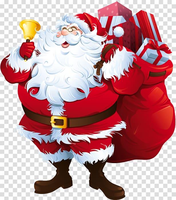 Santa Claus Santa suit Christmas, Santa Claus transparent.