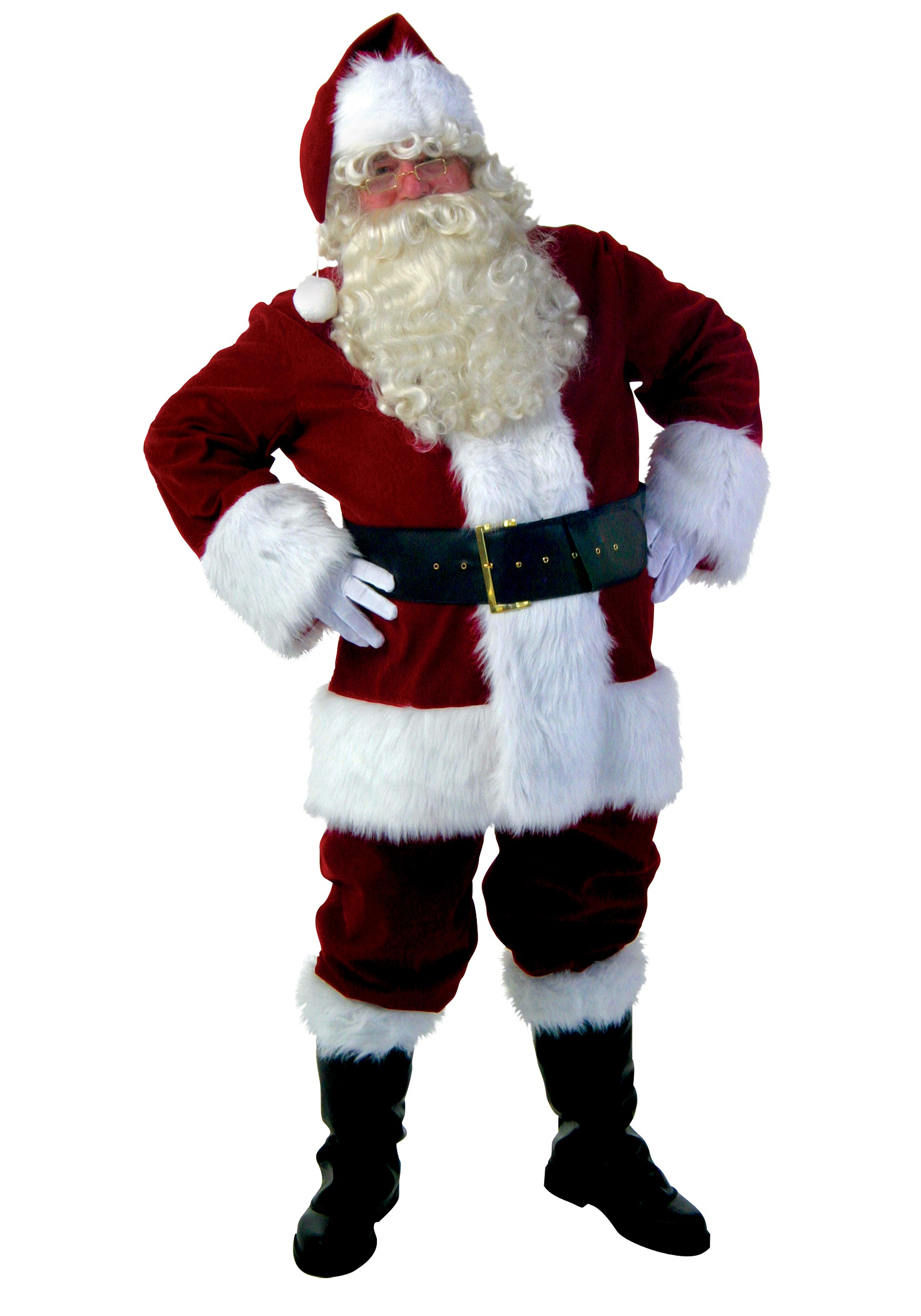 Santa Suit While Sitting Png & Free Santa Suit While Sitting.