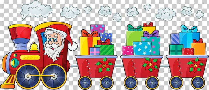 208 christmas Train PNG cliparts for free download.