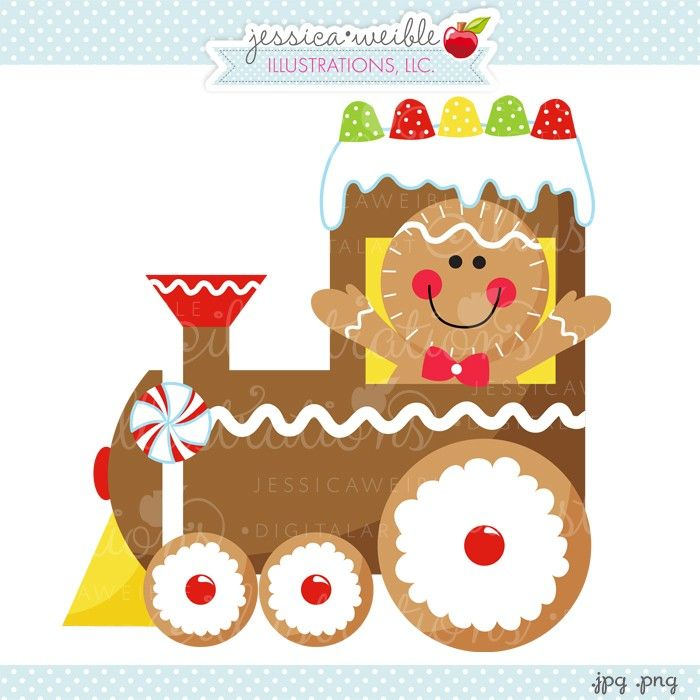 Free christmas train clipart.