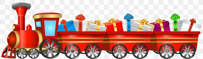 Train Tweetsie Christmas Santa Claus Clip Art, PNG.