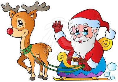 Santa claus clipart vector.