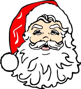 Classic Santa Clip Art at Clker.com.