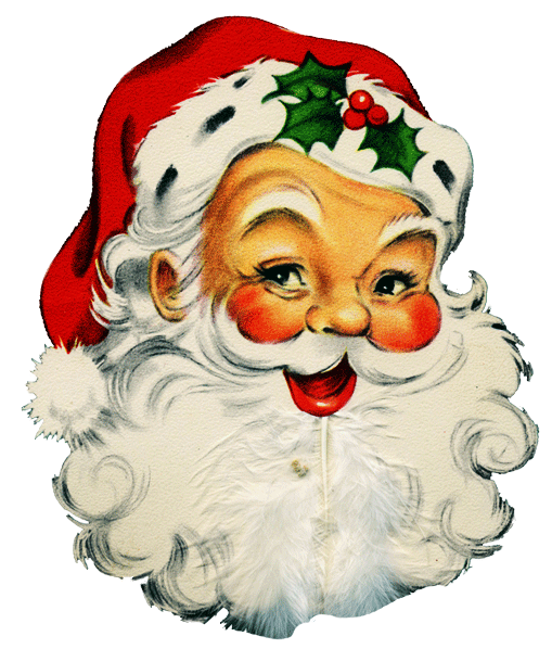 Santa vintage clipart images gallery for free download.