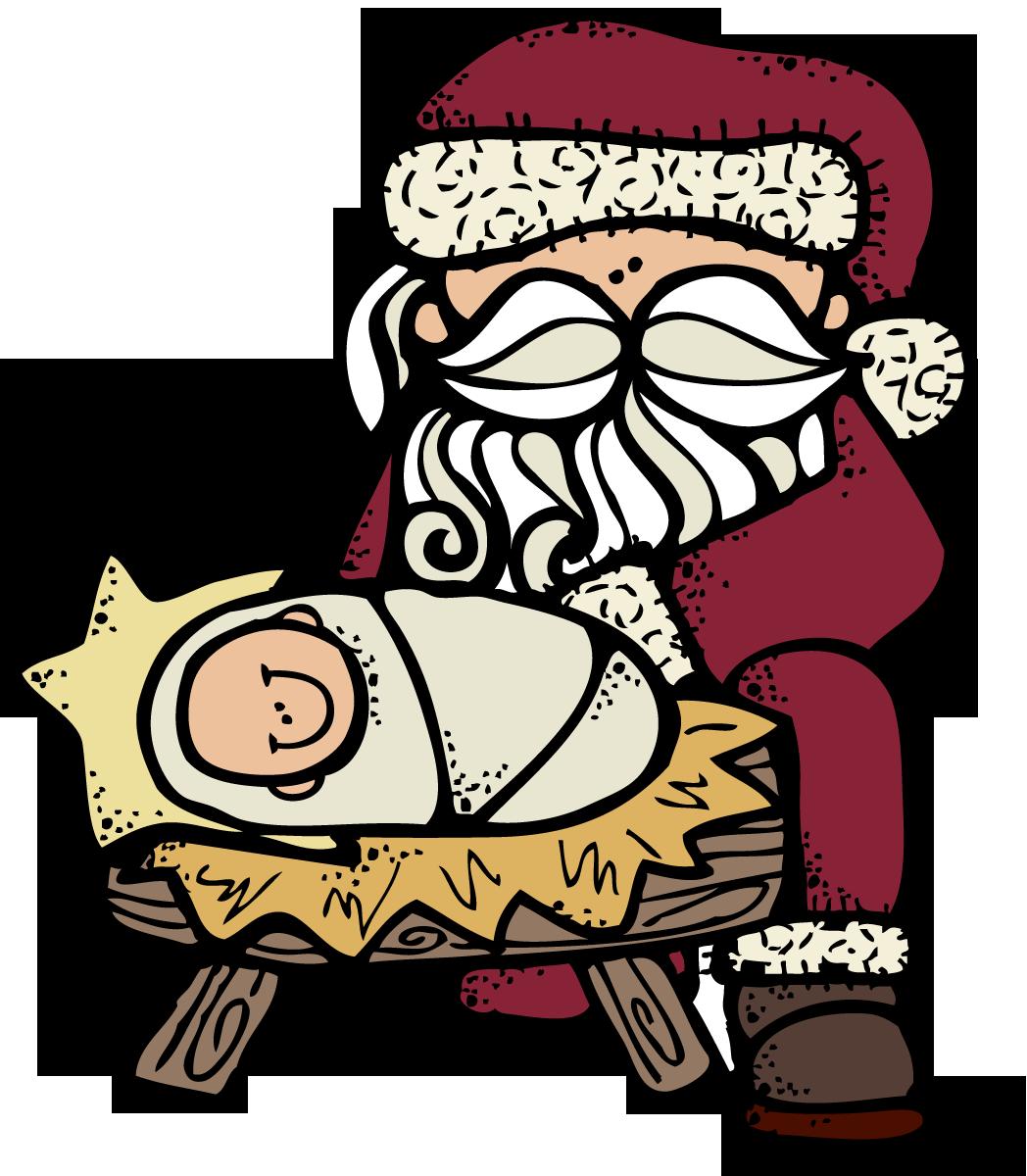 MelonHeadz: Santa and Jesus :).