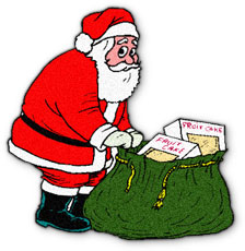 Santa With Coal Clipart (35+).