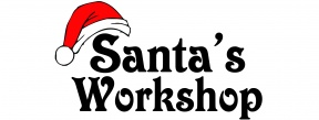 Santa Workshop Clipart.
