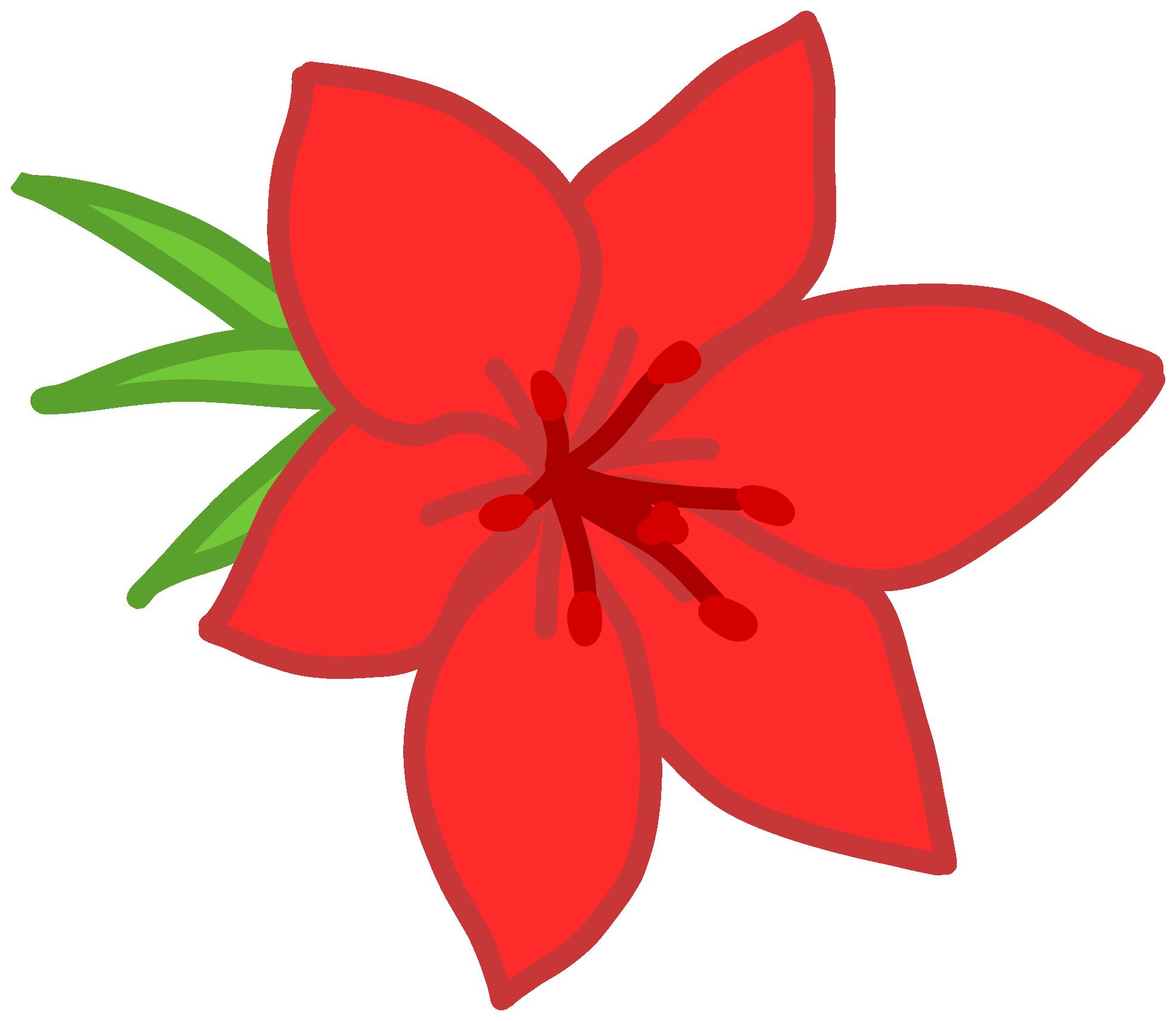 Red Flower Valentine clipartsy.com SVG clipartsy.com.