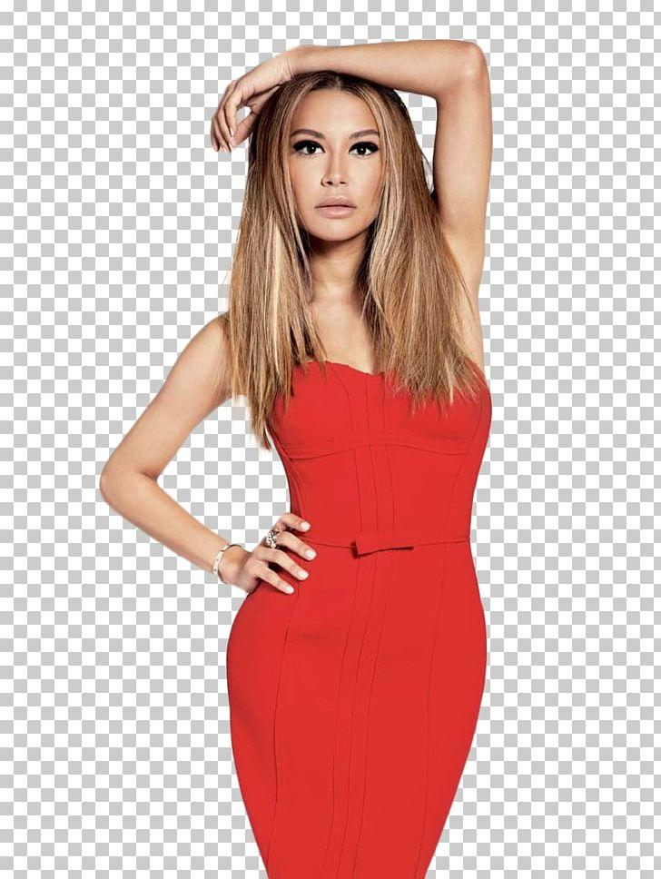 Naya Rivera Glee Santana Lopez Actor Red PNG, Clipart, Actor.