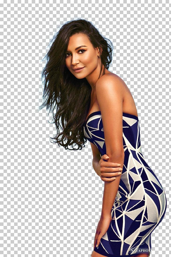 Naya Rivera Glee Santana Lopez Female, big shawl PNG clipart.