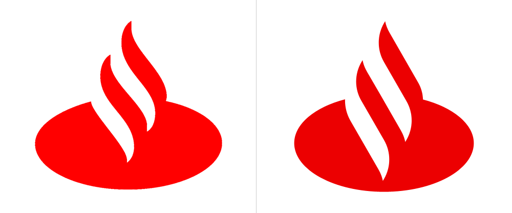 Brand New: New Logo and Identity for Santander by Interbrand.