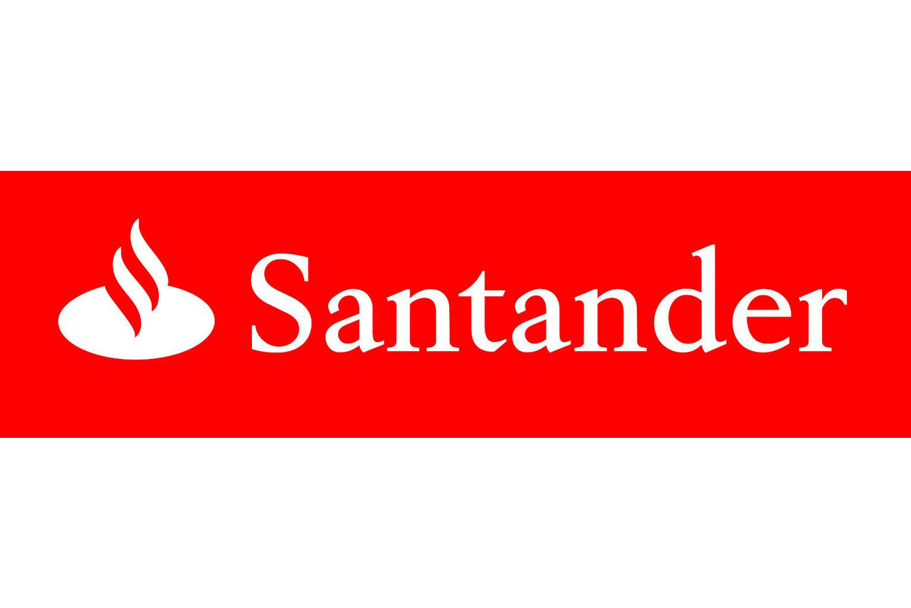Santander bank Logos.