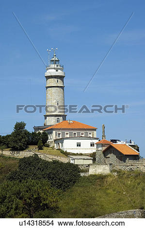 Stock Photo of Spain, Cantabria, Santander, Architecture, City.