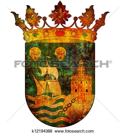 Stock Illustration of symbol of santander k12194388.